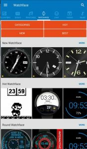 mobile9 watch faces