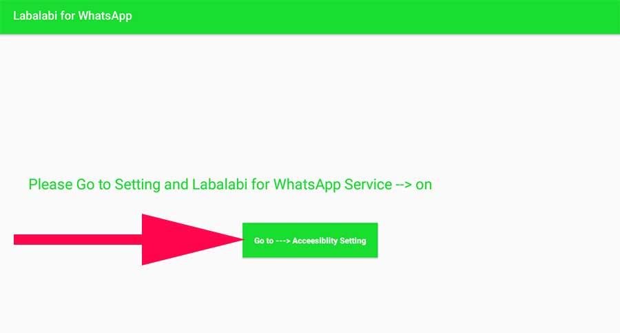labalabi go to accessibility settings