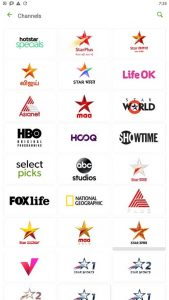 hotstar channel page