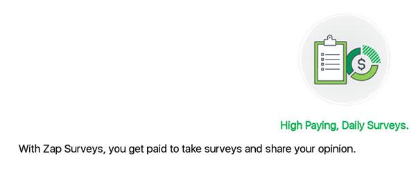 Zap Surveys create account slide 2