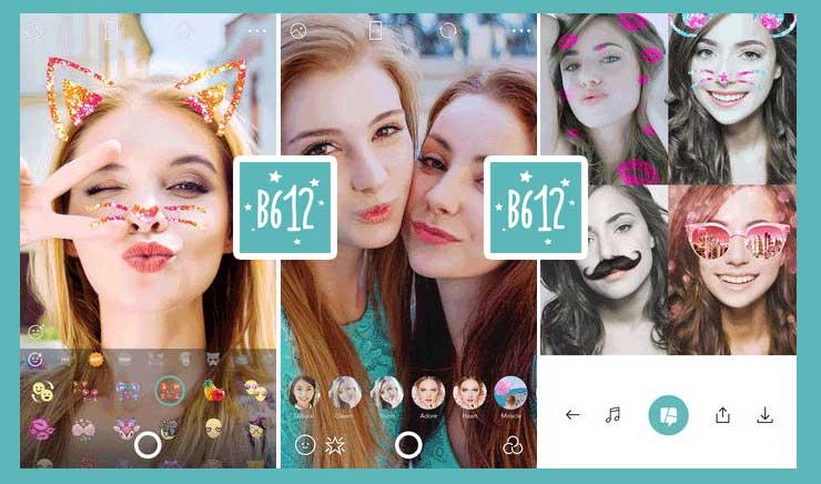 B612 screenshots