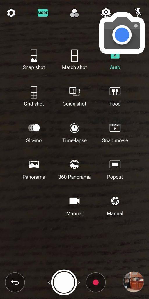 Pixel camera modes